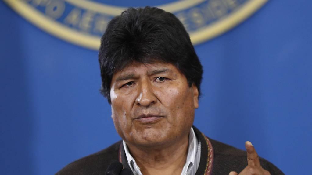 Boliviens Staatschef Evo Morales