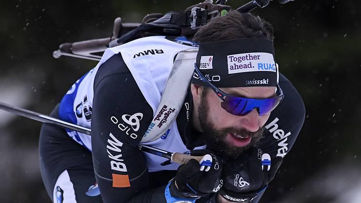 Erneut ein starker Auftritt in Oberhof: Benjamin Weger