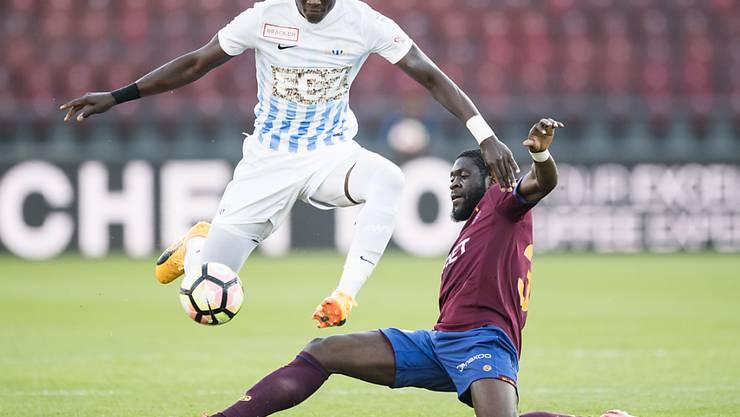 Der FC Zürich und Servette lieferten sich ein ausgeglichenes Duell