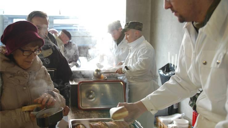 Zum Schluss gab es für die Besucher ein feines Pot-au-Feu.