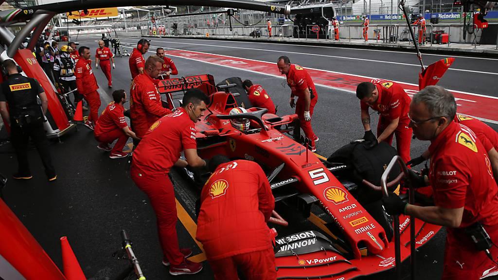 Ferrari präsentiert als erstes Topteam neues Auto