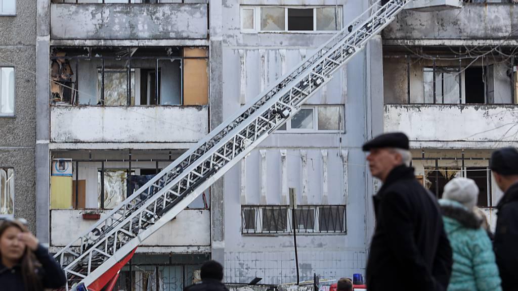 Gewaltige Explosion an russischem Krankenhaus für Corona-Patienten