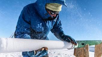 Nach langer Suche haben Forschende den besten Ort in der Antarktis ausfindig gemacht, um nach dem ältesten Eis zu suchen.