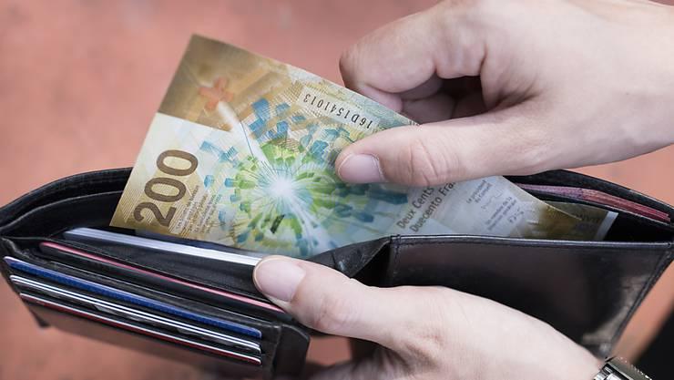 Spenden wollte der 63- Jährige allerdings nur 20 Franken, den Rest von 180 Franken verlangte er zurück.(Archivbild).