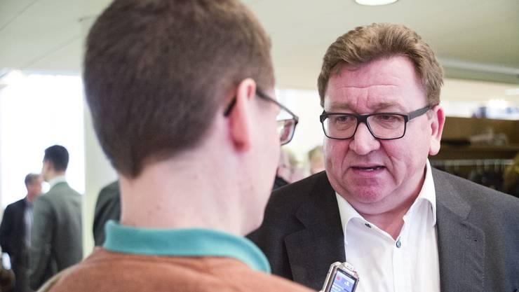 Jürg Aebi tritt als CEO des Kantonsspitals Baselland zurück. Er wurde im Februar 2014 Nachfolger von Heinz Schneider.