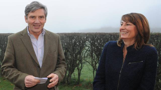 Michael and Carole Middleton, die Eltern von Kate Middleton (Archiv)