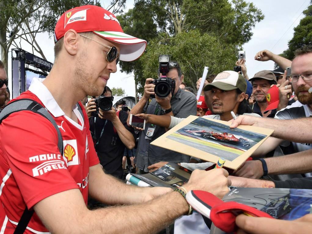 Vettel gewinnt in Melbourne (© KEYSTONE/AP)