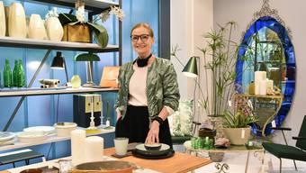 Susanne Wegmüller schliesst ihren Laden Ende Februar und führt derzeit einen Räumungsverkauf durch