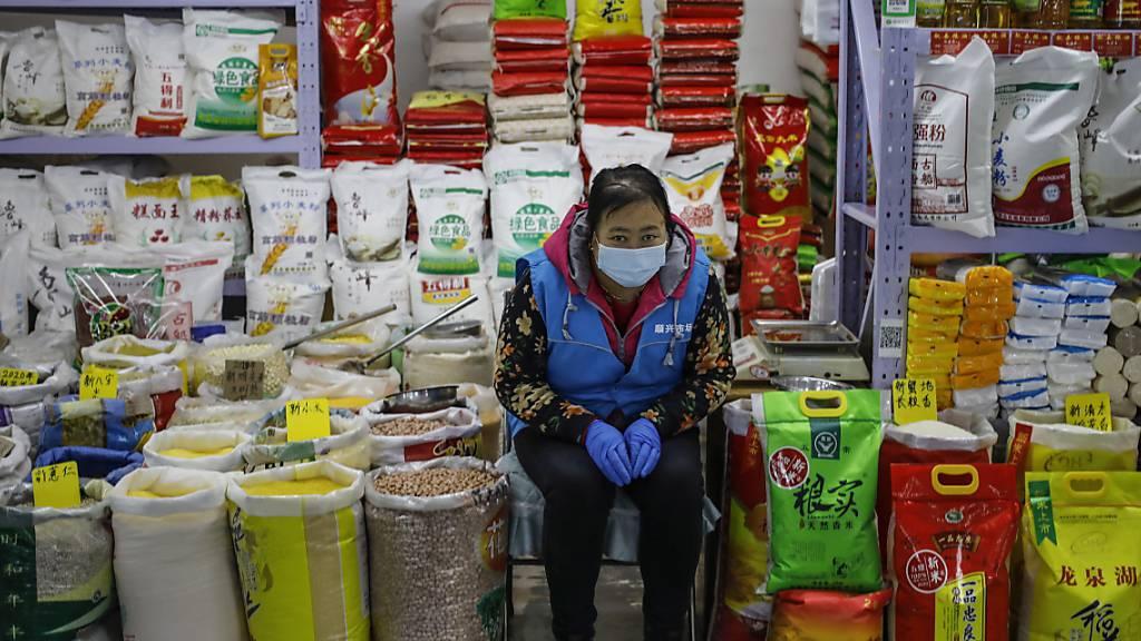 Chinas Wirtschaft könnte die einzige grosse Volkswirtschaft sein, die das Jahr 2020 mit einem positiven Wachstum abschliessen kann. (Symbolbild)