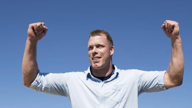 Matthias Sempach will nach einer verletzungsgeprägten Zeit wieder angreifen und das Unspunnenfest am Sonntag gewinnen.
