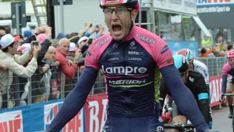 Sacha Modolo (hier bei seinem Sieg in Jesolo) triumphiert auch in Lugano