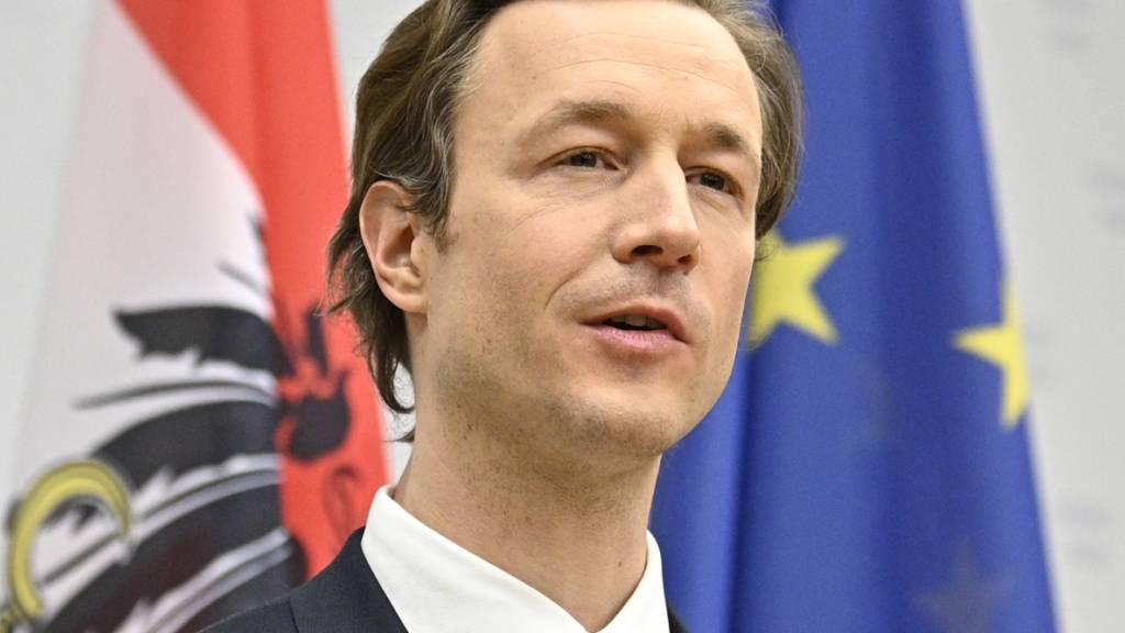 Österreichs Finanzminister Gernot Blümel ist ins Visier der Staatsanwaltschaft geraten. Foto: Hans Punz/APA/dpa