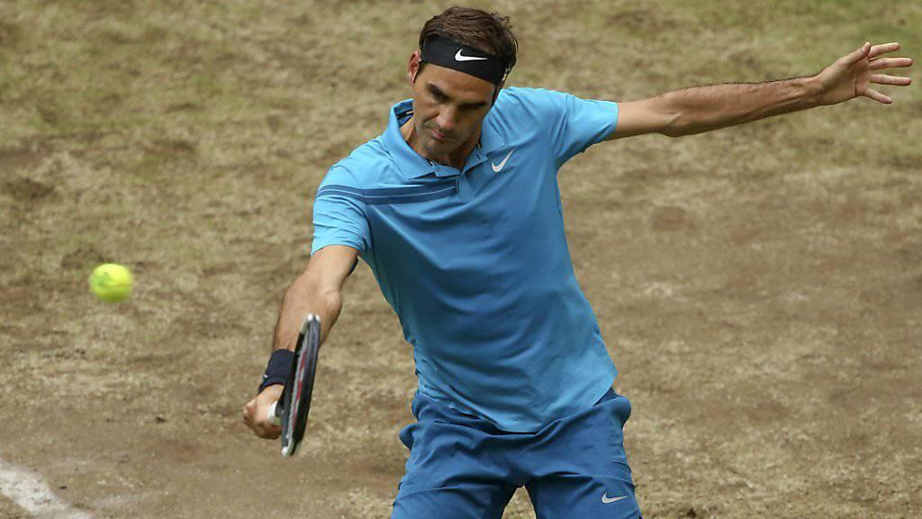 Ist auch aus Sicht der Organisatoren der Favorit in Wimbledon: Roger Federer
