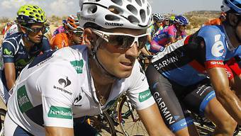Alejandro Valverde die 8. Etappe der Vuelta