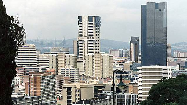 Blick auf Johannesburg (Archiv)