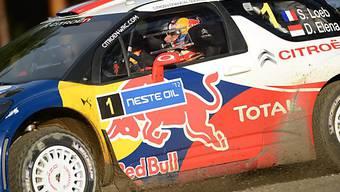 Sebastien Loeb auch in Finnland Schnellster.