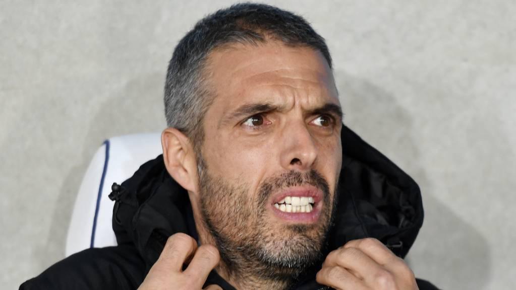 Für Fabio Celestini soll sich die Situation mit den sieglosen Luzernern in Genf nicht weiter zuspitzen