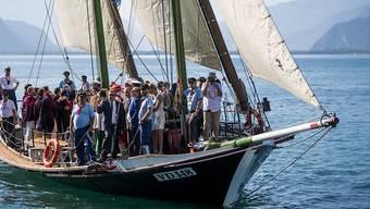 Die Waadtländer Regierung reist am Sonntag per Schiff zur Fête des Vignerons an. Der Waadtländer Kantonstag bildet den Abschluss des diesjährigen Winzerfestes.