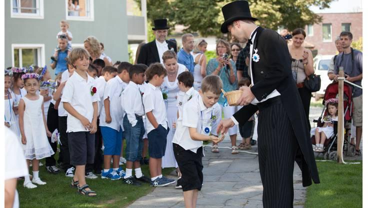 Der klassische Knicks für den Jugendfestfranken.