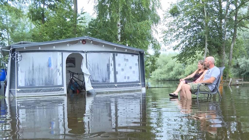 Camperin steht vor Total-Schaden: Unwetter sind Jahrhundert-Ereignis für Versicherungen