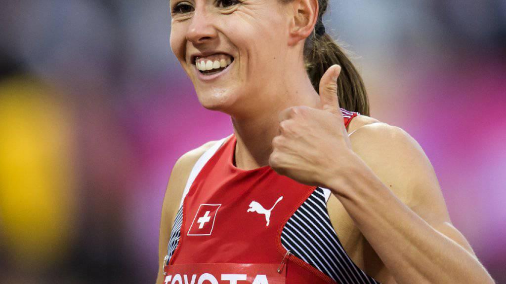 Auftakt geglückt: Selina Büchel steht an den Weltmeisterschaften in London in den Halbfinals