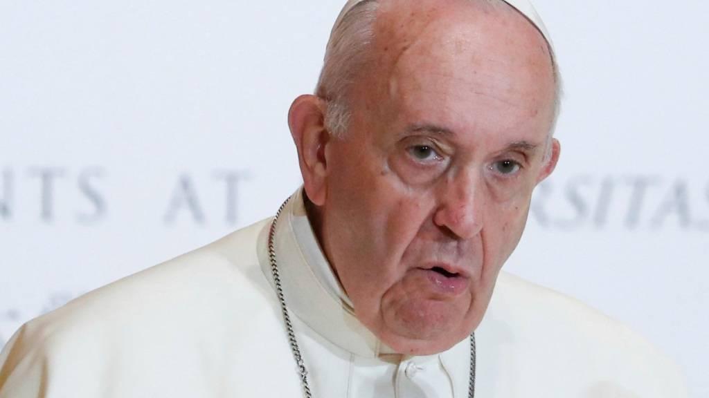 Papst lobt mutige Medien und Reporter mit «abgelaufenen Schuhsohlen»