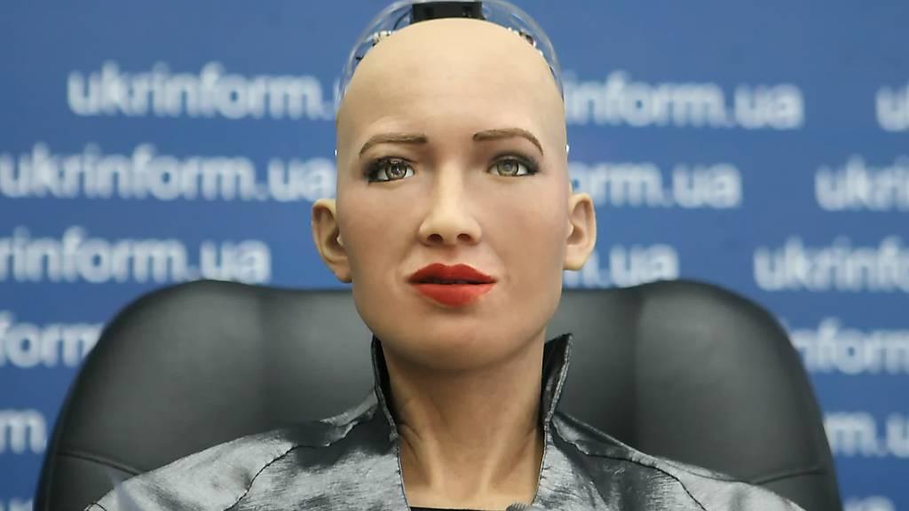 Roboter-Selbstporträt für fast 700 000 Dollar versteigert