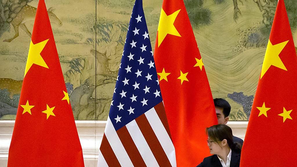 China fordert USA zur Zusammenarbeit in Corona-Krise auf