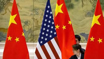China und die USA haben in der Corona-Krise versöhnlichere Töne angeschlagen und wollen nun zusammenarbeiten. (Symbilbild)