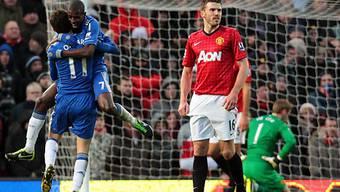 Manchester United verspielte gegen Chelsea Zwei-Tore-Vorsprung.