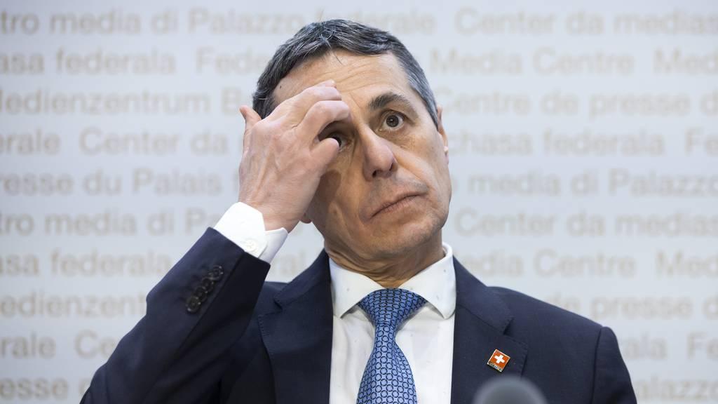 Die Pläne von Ignazio Cassis werden von linker Seite heftig kritisiert