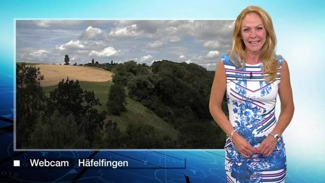 «Ein neues Hoch baut sich auf – und was für eines»: Wetterprognosen vom Montagabend, 13. Juli 2015.