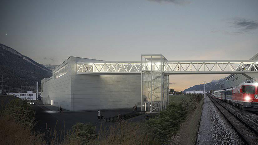 Die Bauherren des Kino West in Chur haben mit dem Bau gegonnen.