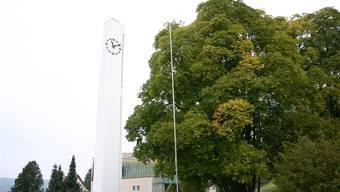 Sagen die stimmberechtigten Schlieremer Katholiken Ja zum neuen Pfarreihaus, muss der Ahornbaum dem Neubau weichen. aru