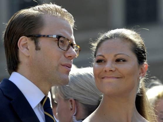 Kronprinzessin Victoria und ihr Mann Daniel (Archiv)