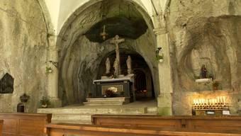 In der Verenakapelle gab es vor einem Monat einen Brand. Jetzt ist die Kapelle wieder frei zugänglich.