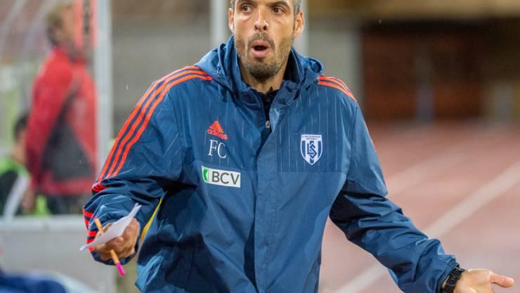 Mit Lausanne im Hoch: Coach Fabio Celestini