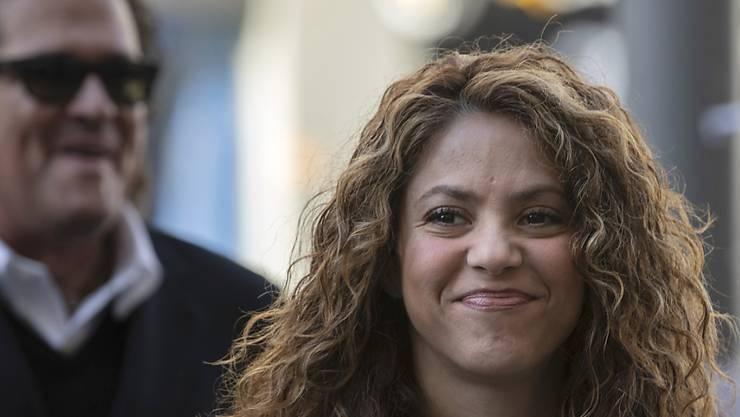 Wegen mutmasslishcer Steuerhinterziehung befragt: Sängerin Shakira bei ihrem Eintreffen vor Gericht.