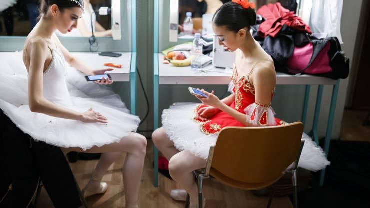 Blick hinter die Kulissen des Tanzwettbewerbs in Lausanne.