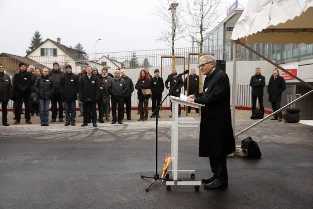 Ansprache von Stadtpräsident Kurt Fluri