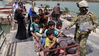 Tausende Iraker fliehen vor Terrormiliz IS aus Ramadi
