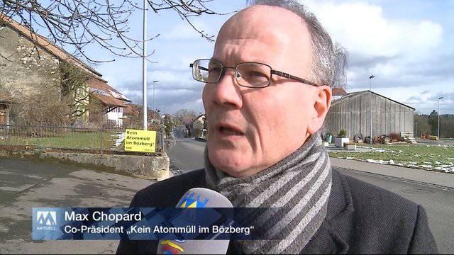 Reaktionen aus Bözberg AG