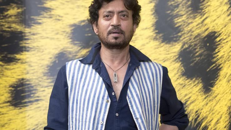 Bollywood-Schauspieler Irrfan Khan leidet nach eigenen Angaben an einer seltenen Krankheit. Genaueres ist noch nicht bekannt. (Archivbild)