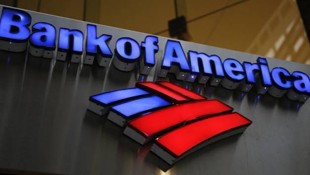 Bei der Bank of America ging die Kontoeröffnung schnell.
