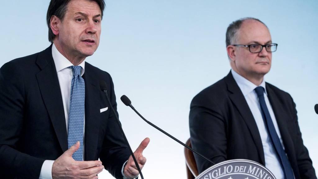 Italienische Regierung ruft zu «notwendigen Opfern» auf