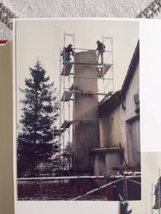 Abbruch vor Weihnachten 1978.