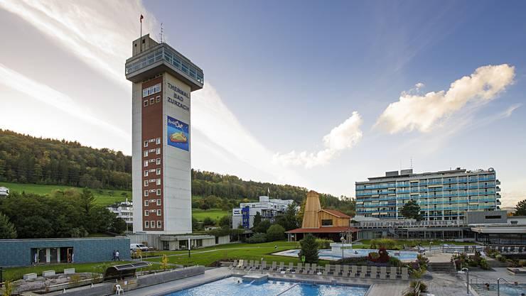 443 993 Besucher zählte das Thermalbad Zurzach im Jahr 2017.