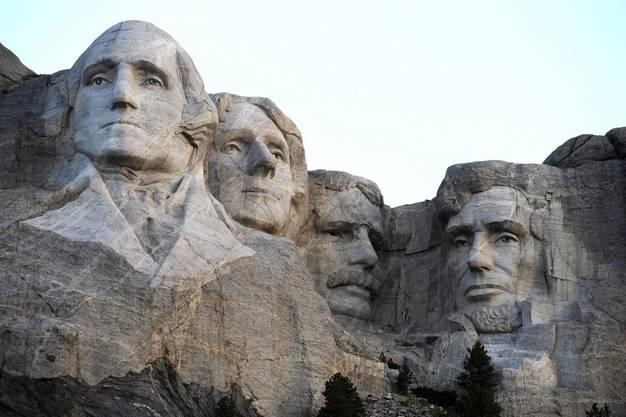 Mount Rushmore, eines der drei beliebtesten US-Reiseziele