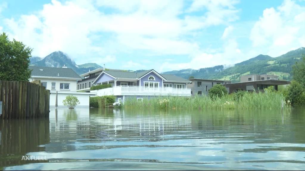 Gefahr Hochwasser: Immer mehr Seen und Flüsse überlaufen