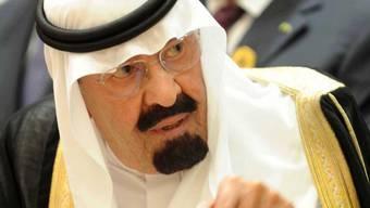 Der König Saudi-Arabiens verlegt das Wochenende (Archiv)